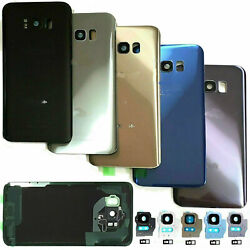Samsung Galaxy S8 Plus S8 Note 8 Replacement Back Glass+Camera Lens+Tape