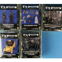 Kyпить Verlinden Publishing Bundle Deal 4 Figure Sets + 1 Detail Lot 37 #VBu37U на еВаy.соm
