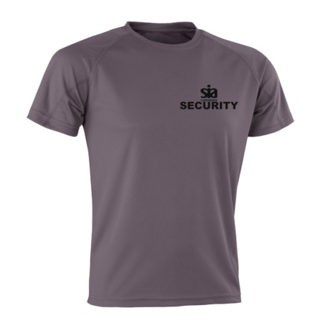 img-SECURITY SIA TACTICAL GREY T Shirt Moisture Wicking Performance