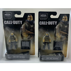 Kyпить Mega Construx Call of Duty Black Series John Soap Mactavish NEW lot of 2 на еВаy.соm