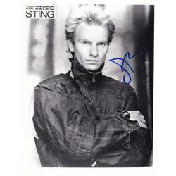 Kyпить Sting- Signed Photograph на еВаy.соm