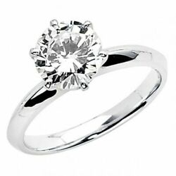Kyпить 2 Ct Round Cut Solitaire Engagement Wedding Promise Ring Solid 14K White Gold на еВаy.соm