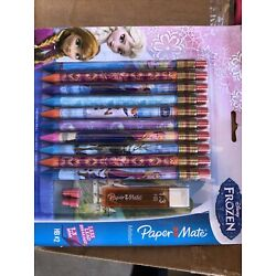 Kyпить 10 Pk PAPER MATE MECHANICAL PENCILS 1.3 MM HB #2 DISNEY FROZEN на еВаy.соm