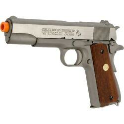 Colt CO2 blowback MK IV/SERIES 70 1911 government full metal airsoft pistol GBB