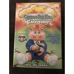 Kyпить ????2020 Garbage Pail Kids, GPK Sealed Chrome 3 Blaster Box + 2 FREE Base Cards!???? на еВаy.соm