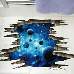 3d Cosmic Space Wall Sticker Galaxy Theme Stickers Room Bedroom Space Decoration