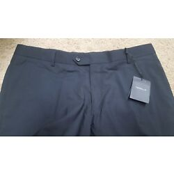 NWT $550 TONELLO LUXURY MADE IN ITALY 36 BLACK LIGHT WOOL,