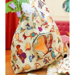 Alice in Wonderland OH MY CAFE Japan Limited Eco Bag Bread and butterfly NEW