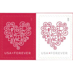 Kyпить 100 USPS Forever Stamps Love Heart Blossoms 5 Sheets of 20 на еВаy.соm