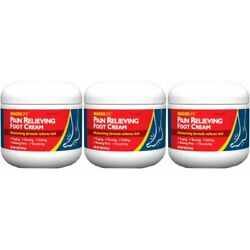 Magni Life Pain Relieving Foot Cream, 4 Ounce Each (Value Pack of 3)