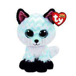 Kyпить Ty Beanie Boos Piper the Fox Claire's Exclusive Baby Blue And White на еВаy.соm