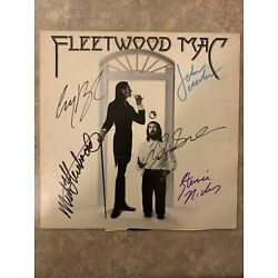 Kyпить Fleetwood Mac Signed Autographed  LOA PROOF 5 names Mick Fleetwood Stevie Nicks  на еВаy.соm