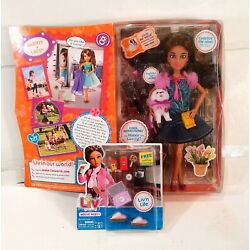 Liv Spin Master Fashion Doll and Pet - Alexis & Lacey & 1 movie party accessory