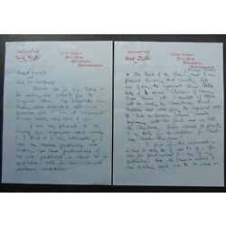 Kyпить Enid Blyton, SIGNED 4 Page Hand-written Letter, August 23rd 1947, Famous Five на еВаy.соm