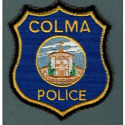 Kyпить Colma California Police Patch  Large Letters *COLMA*  First Issue на еВаy.соm