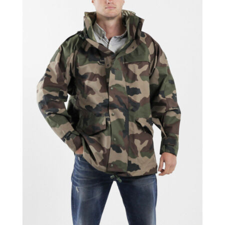 img-NEW Surplus French Waterproof Breathable Jacket Army CCE Woodland Camo 48-50
