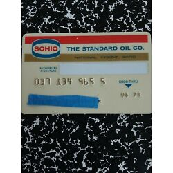 Kyпить Standard Oil SOHIO National Credit Card 1974 Vintage Collectible на еВаy.соm