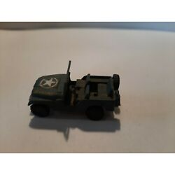 Kyпить Roco Minitanks Military Police Jeep (Blue) - HO Scale  на еВаy.соm