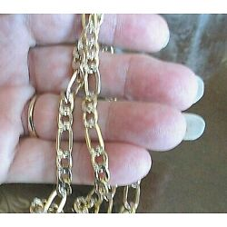 Kyпить Generous 7MM Wide! Genuine 14KT  Gold Chain~24 Inches, 18.60 Gms~Lobster Clasp на еВаy.соm