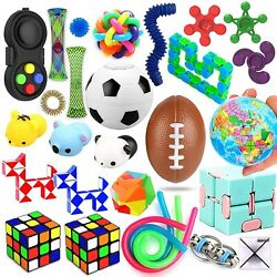 28 Pack Sensory Toys Set, Relieves Stress and Anxiety Fidget Toy for Children Ad