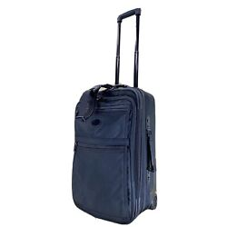 "Kyпить Kirkland 22"" Upright Expandable Wheeled Carry On Suitcase Black Ballistic Nylon на еВаy.соm"