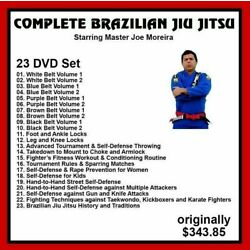 Kyпить Brazilian Jiu Jitsu Complete 23 DVD SET Joe Moreira BJJ mma  Panther Productions на еВаy.соm