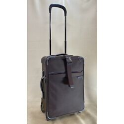 "Kyпить Briggs & Riley Baseline U420L Brown Ballistic Nylon 20"" Wheeled Upright Carry-On на еВаy.соm"