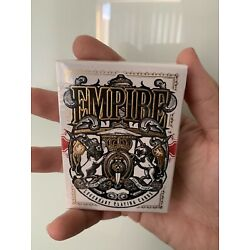 Empire playing cards by Kings&Crooks *SEALED*