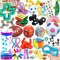 Sensory Fidget Toys Pack,Stress & Anxiety Relief Tools Bundle Figetget Toys Set