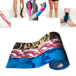 Waterproof Physio Elastic Kinesiology Sports Muscle Support Tape Therapeutic US