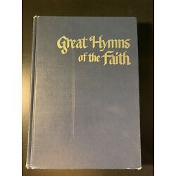 Great Hymns of The Faith Vintage Hymnal 1968 Singspiration Zondervan Blue HC
