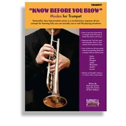 Kyпить SANTORELLA KNOW BEFORE YOU BLOW MODES FOR TRUMPET BOOK WITH  CDs на еВаy.соm