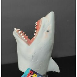 Shark Hand Puppet soft rubber by Schylling   great for imagination play