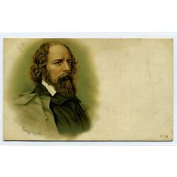 Kyпить Lord Alfred Tennyson Private Mailing Card (C. 1898-1907) на еВаy.соm