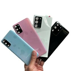 For Samsung Galaxy Note20/S20 Plus/Ultra Replacement Back Glass+Camera Lens+Tape