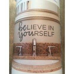BELIEVE IN YOURSELF  VINYL WALL DECAL HOME DECOR QUOTE INSPIRATIONAL QUOTE
