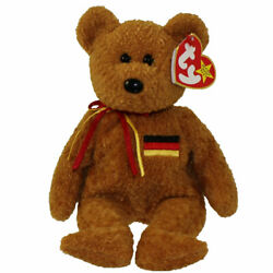 TY Beanie Baby - GERMANIA the Bear (German Exclusive) (8.5 inch) - MWMTs