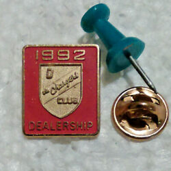RARE..  Dodge 1992 Dealership D The Chargers Club pin