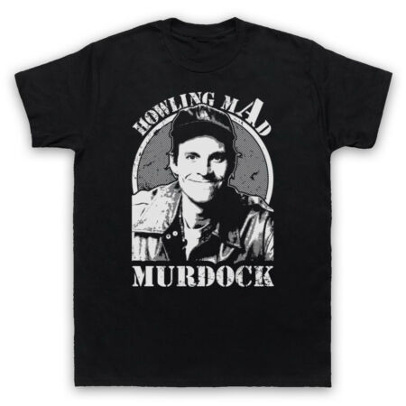 img-HOWLING MAD MURDOCK THE A TEAM ACTION TV UNOFFICIAL MENS & WOMENS T-SHIRT