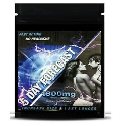 5 Day Forecast 1600 mg Male Herbal Enhancement Supplement 10 Pills authentic