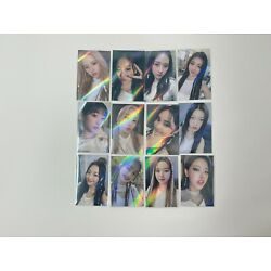 Loona & Photocards And Makestar Holo Preorder Orbit Ring Restock (US / ON HAND)