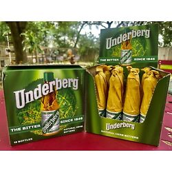 Underberg Natural Herb Bitters 60 Bottles With Extras