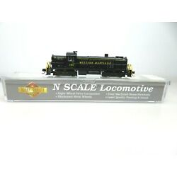 Walthers Hobby Quality N Scale Alco RS-2 Western Maryland Diesel Locomotive #180