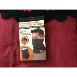 Copper Care Face Protector-Mask-Lightweight Washable Black & Gray
