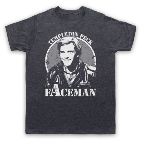 img-THE A TEAM TEMPLETON PECK FACEMAN ACTION TV UNOFFICIAL MENS & WOMENS T-SHIRT