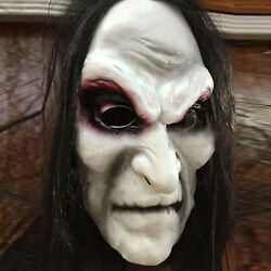 Scary Halloweens 3D Devil Masks Creepy Ghost Skull Adult Mask Party Cosplay Prop