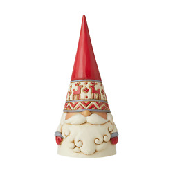 Jim Shore 6006623 Red Reindeer Hat Gnome 2020 NEW Christmas