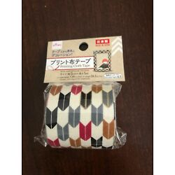 Japanese adhesive Fabric tape for DIY Scrapbooking Mini Dollhouse project