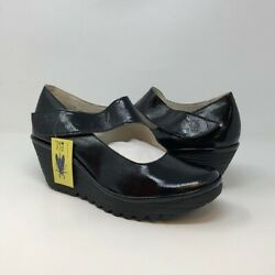 FLY London YASI682FLY Wedge Pump Size 43 M