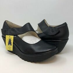 FLY London YASI682FLY Wedge Pump Size 38 M